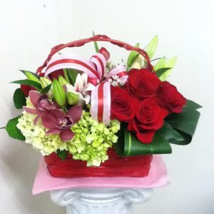v-day mix basket
